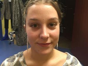 Maquillages effectués le jour de l'élection pour la miss 2020